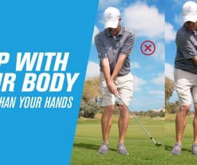 Chip with your body – not your hands! | by Stuart Fee (JA The Resort)