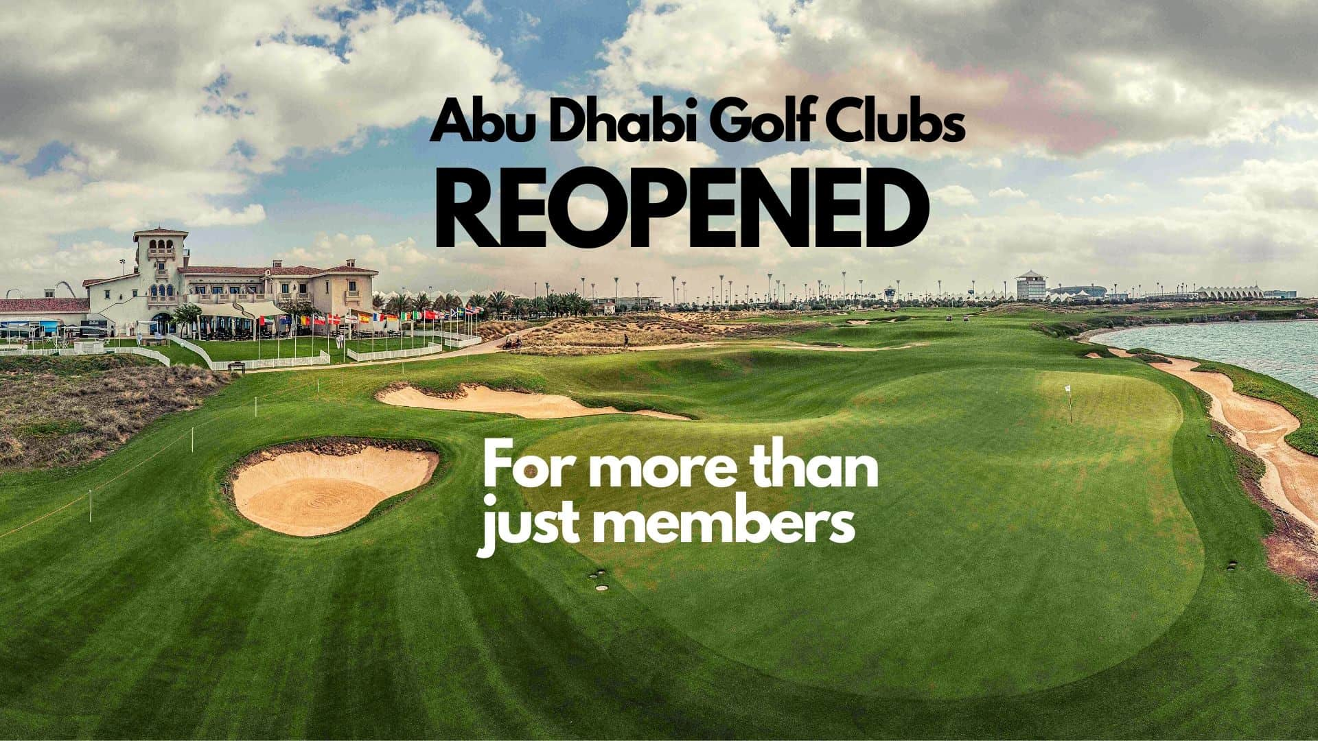 Abu Dhabi golf clubs