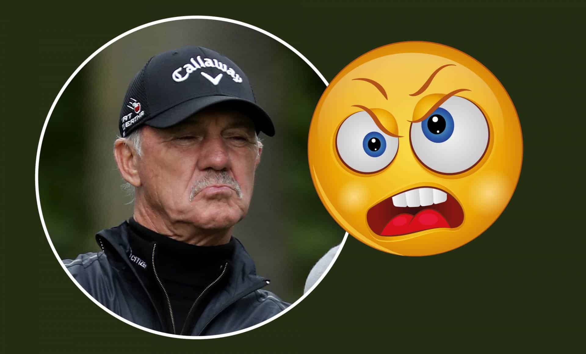 Pete Cowen angry