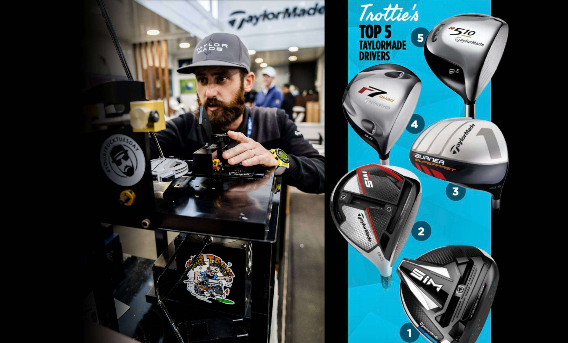 five taylormade drivers