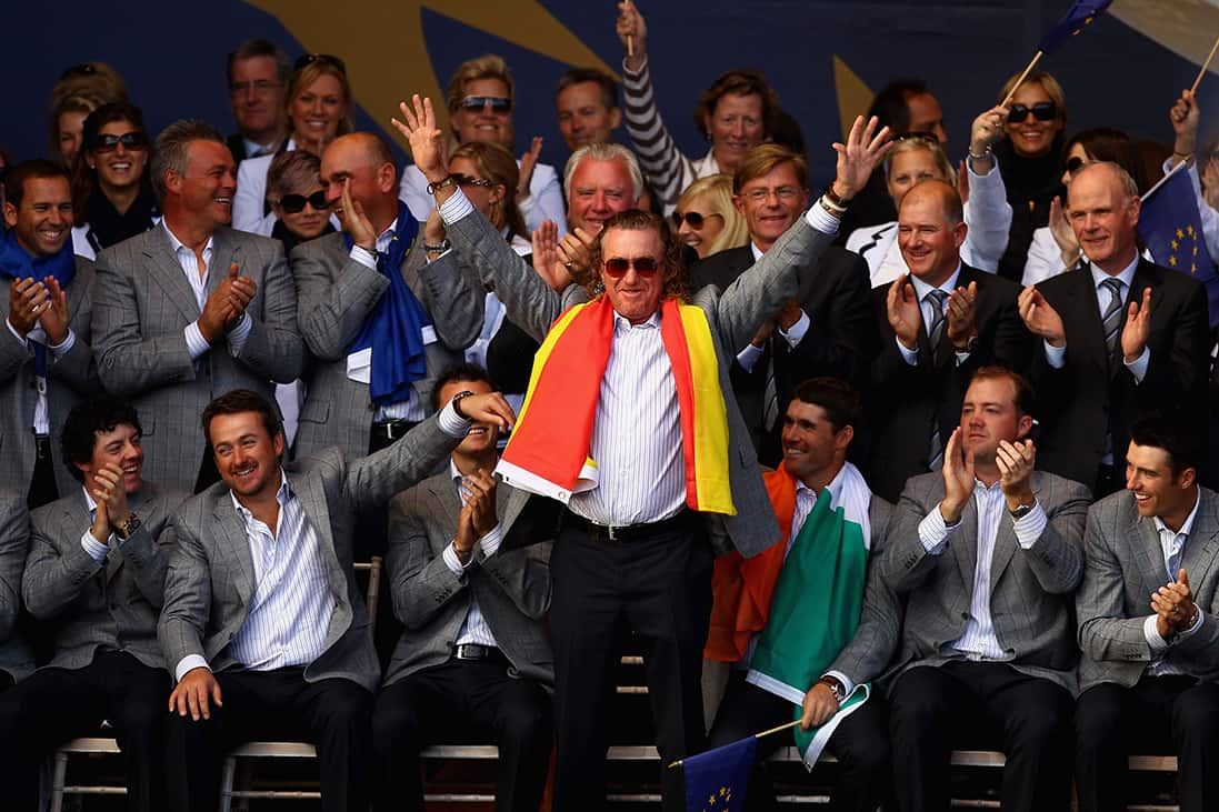Miguel Angel Jimenez 2010 Ryder Cup