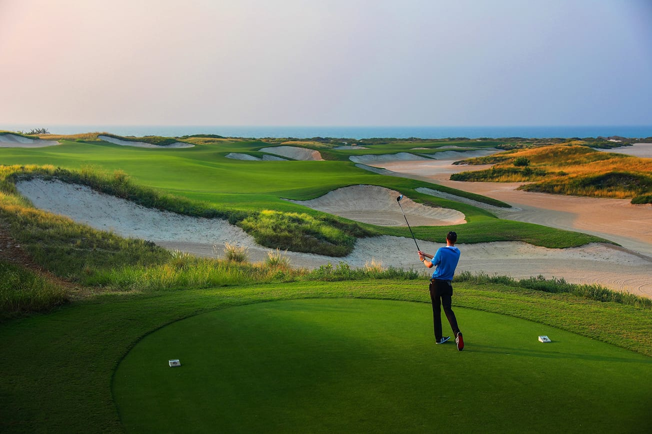 Saadiyat Beach Golf Club - 16th Hole