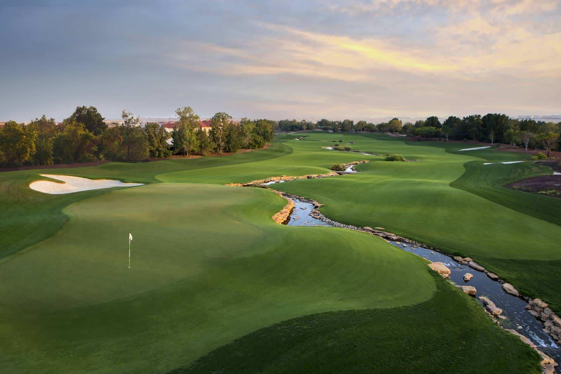 Earth course Jumeirah Golf Estates