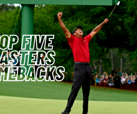 Top five Masters comebacks
